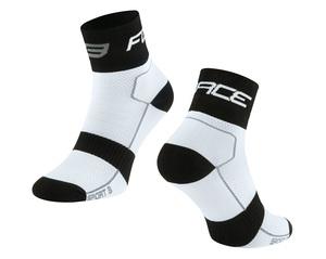 Force ponožky SPORT 3, bílo-černé