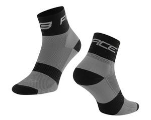 Force ponožky SPORT 3, šedo-čené