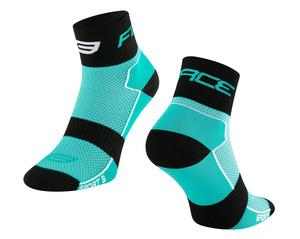 Force ponožky SPORT 3, tyrkysovo-černé