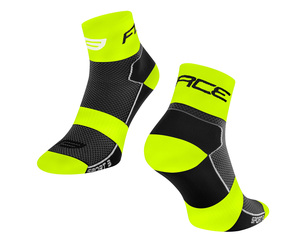Force ponožky SPORT 3, černo-fluo