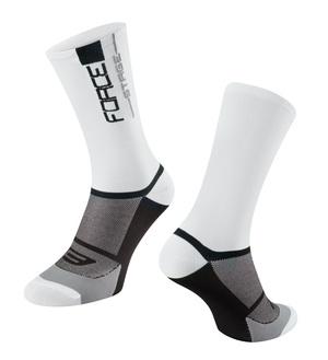 Force ponožky STAGE, bílo-černé