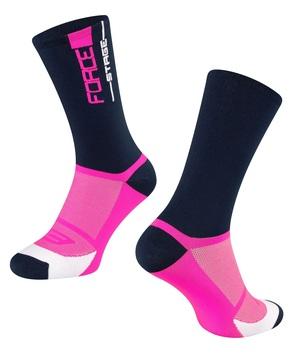 Force ponožky STAGE, modro-růžové