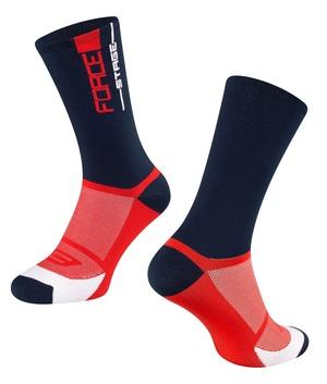 Force ponožky STAGE, modro-červené