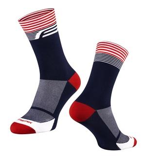 Force ponožky STREAK, modro-červené
