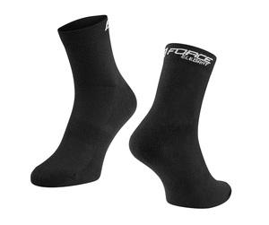 Force ponožky ELEGANT nízké, černé