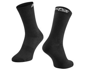 Force ponožky ELEGANT vysoké, černé