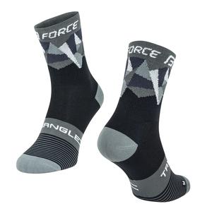 Force ponožky TRIANGLE černo-šedé