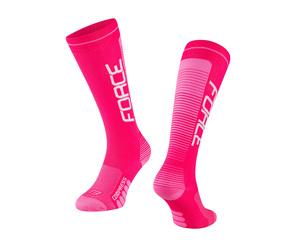 Force ponožky COMPRESS, růžové