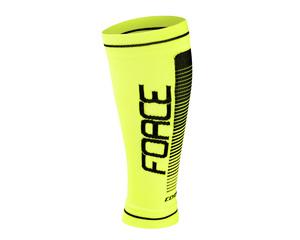 Force návleky na nohy COMPRESS fluo-černé