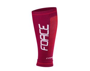 Force návleky na nohy COMPRESS bordó-červené