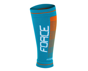 Force návleky na nohy COMPRESS modro-oranžové