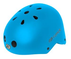 Force přilba BMX modrá matná