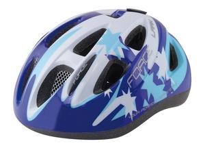 Force dětská helma LARK modro-bílá