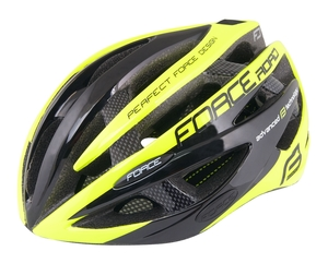 Force helma ROAD JUNIOR, černo-fluo