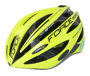 Force helma ROAD JUNIOR PRO, fluo