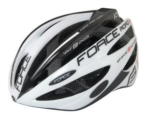 Force helma ROAD JUNIOR PRO, bílo-černá