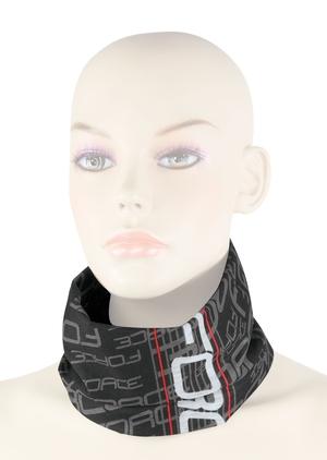 Force šátek multifunkční FORCE léto, černo-bílý, UNI