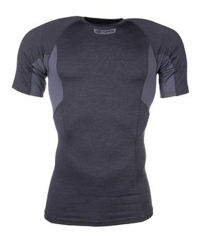 Force triko funkční BREEZE krátký rukáv, šedé