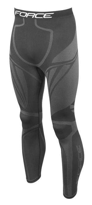 Force kalhoty/funkční prádlo FROST černé