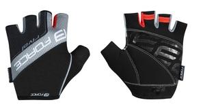 Force rukavice RIVAL černo-šedé