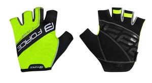 Force rukavice RIVAL fluo-černé