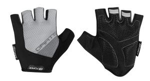 Force rukavice DARTS gel bez zapínání, šedé