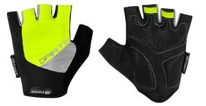 Force rukavice DARTS gel bez zapínání, fluo-šedé