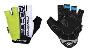 Force rukavice RADICAL fluo-bílo-černé