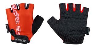 Force rukavice KID dětské, červené