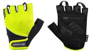 Force rukavice GEL fluo-černé