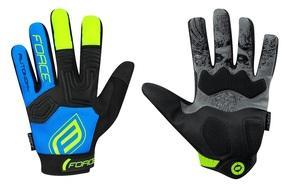 Force rukavice MTB AUTONOMY, černo-modré