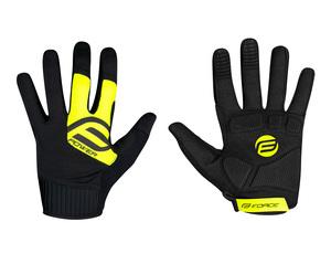 Force rukavice MTB POWER, černo-fluo