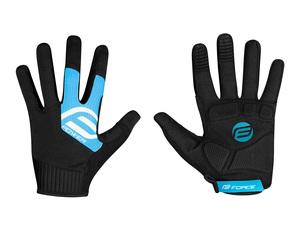 Force rukavice MTB POWER, černo-modré