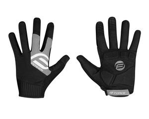 Force rukavice MTB POWER, černo-šedé