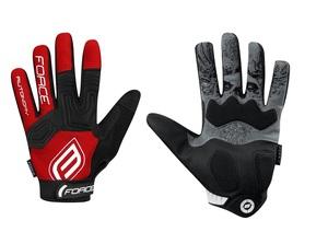 Force rukavice MTB AUTONOMY, červené