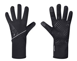 Force rukavice VISION softshell, jaro-podzim, černé
