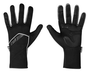 Force rukavice GALE softshell, jaro-podzim, černé