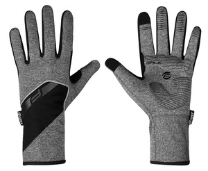 Force rukavice GALE softshell, jaro-podzim, šedé
