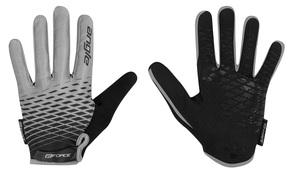 Force rukavice MTB ANGLE letní, šedo-černé