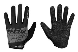 Force rukavice MTB SWIPE, černo-šedé