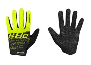 Force rukavice KID MTB SWIPE letní, černo-fluo