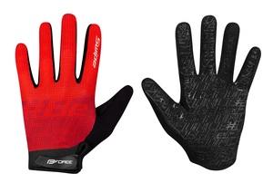 Force rukavice MTB SWIPE, červené