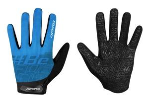 Force rukavice MTB SWIPE, modré