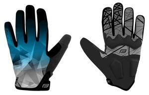 Force rukavice MTB CORE letní, modré