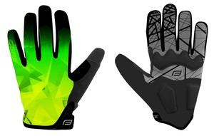 Force rukavice MTB CORE letní, fluo-zelené