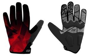 Force rukavice MTB CORE letní, červené