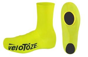 Velotoze návleky treter ROAD latex vysoké, žluté