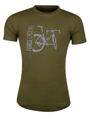 Force triko FLOW krátký rukáv, zelené