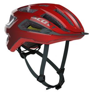 Scott cyklistická helma ARX PLUS fiery red/storm grey