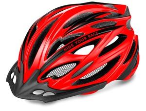 R2 helma ARROW neon červená, černá